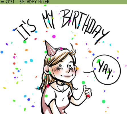 Birthday filler
